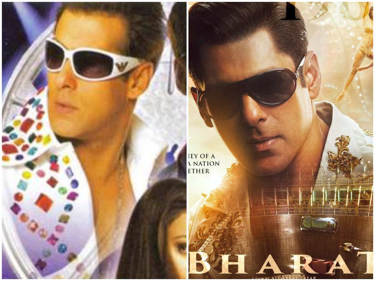 'Bharat' or 'Jaaneman'? Salman Khan's second look poster from the latest film looks exactly similar to his 2006 film