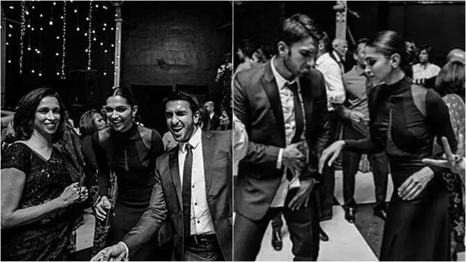 Deepika Padukone and Ranveer Singh look royal at a friend's wedding, these monochrome pics are proof!
