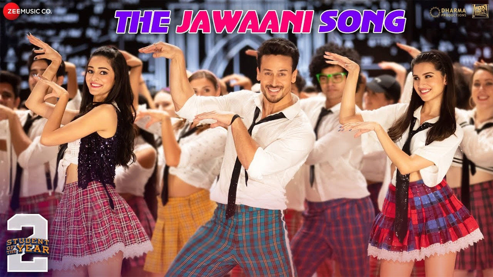 Candid Hd First Day Of School tiger shroff gets candid about the new track 'the jawaani song' from  'student of the year 2'