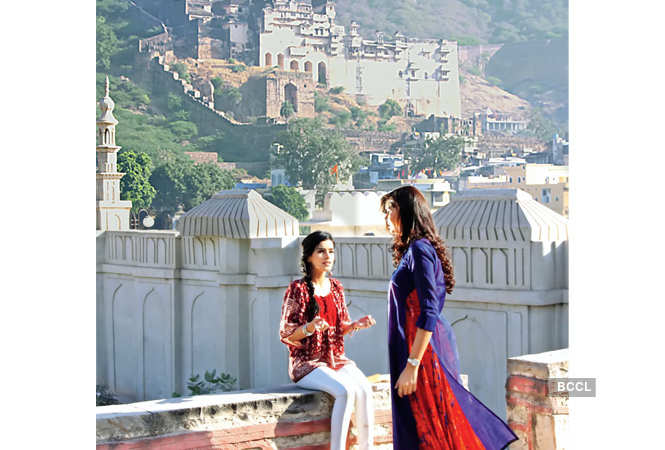 Ek Shringaar… Swaabhimaan shoot in Bundi