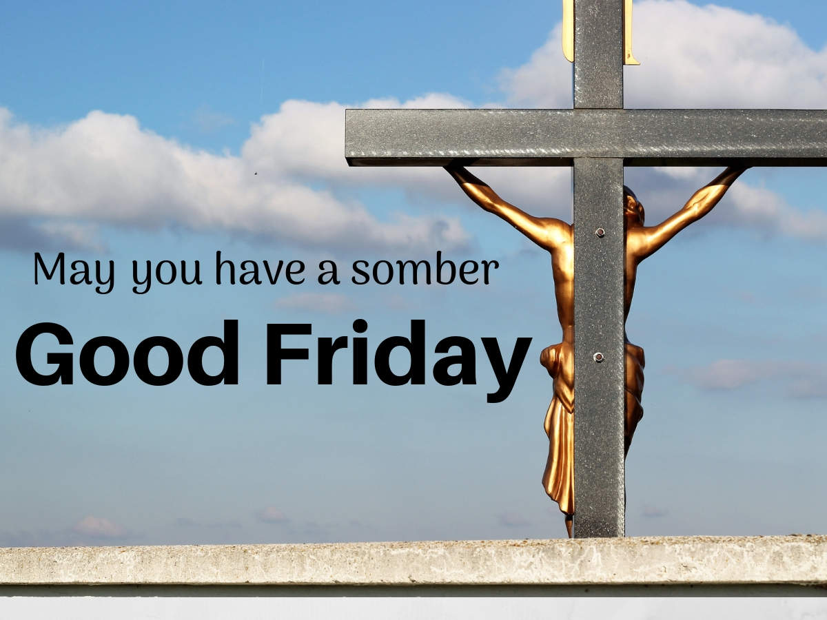 good friday card