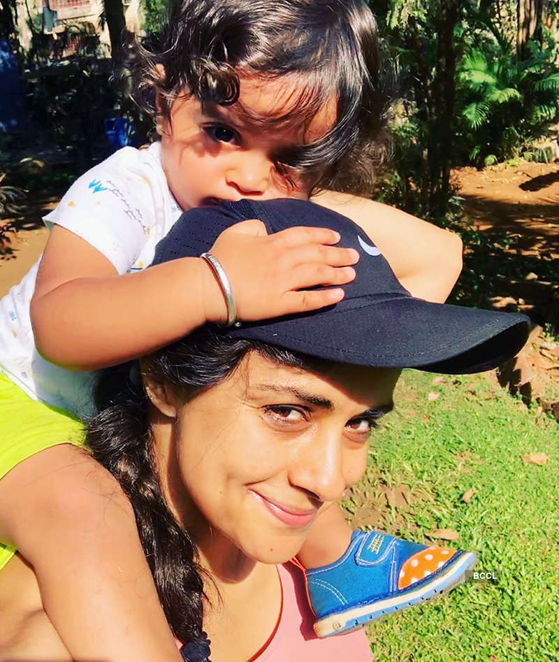 Gul Panag & little son give us motherhood goals with these adorable pictures