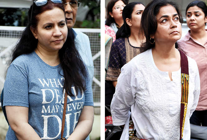 (L) Tazeen Husain (R) Adity Chakravarti (BCCL/ Farhan Ahmad Siddiqui)