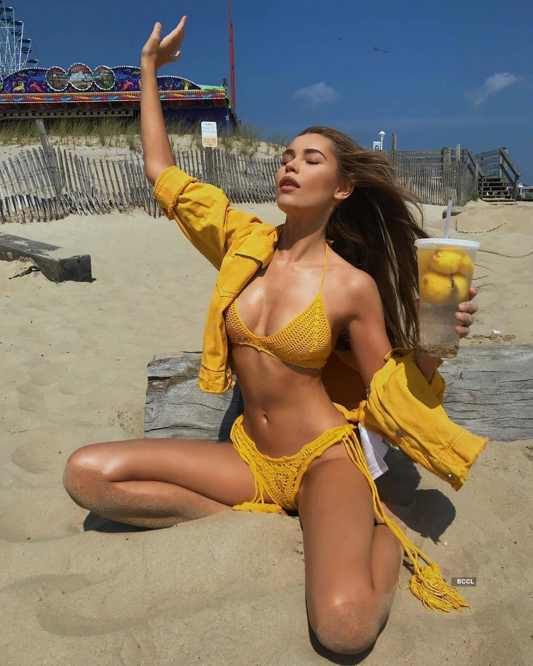 Lithuanian model Dijora Cerios loves to travel