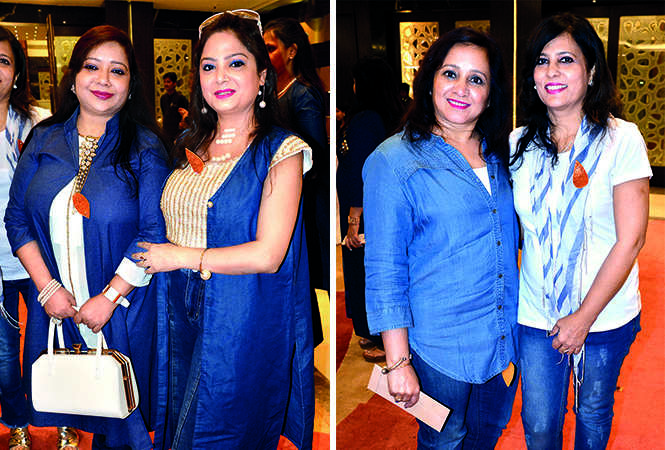 (L) Deepali and Menu (R) Geeta and Rosy (BCCL/ IB Singh)