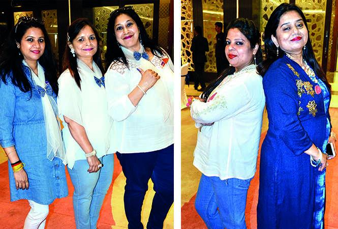 (L) Preeti, Renuka and Suvinta (R) Ratna and Ruchi (BCCL/ IB Singh)