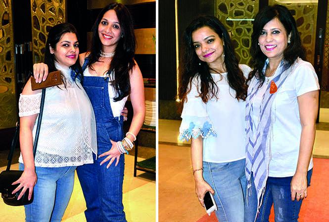 (L) Richa and Bhavneet (R) Rosy and Preeti (BCCL/ IB Singh)