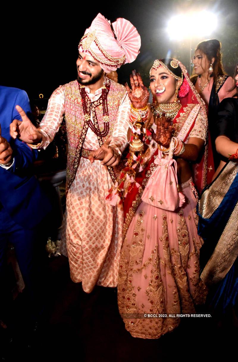 TV actor Anmol Pranami and Rosi Das' wedding ceremony