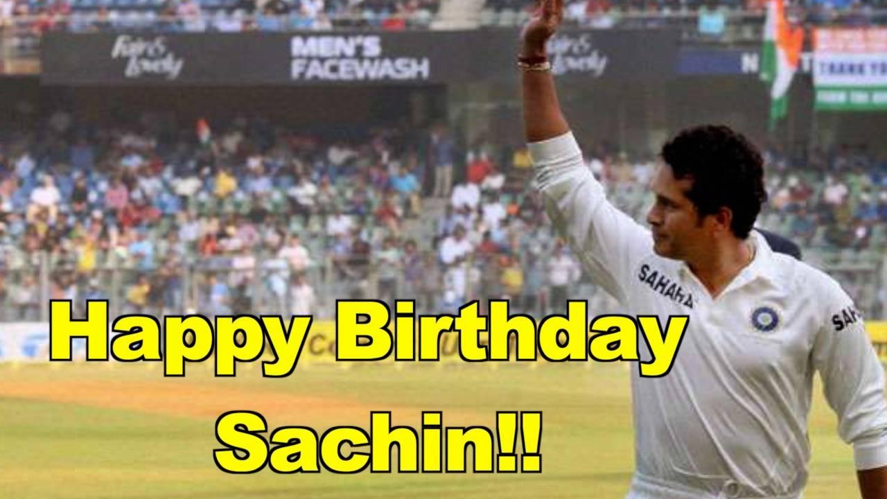Happy birthday master blaster: Sachin Tendulkar turns 46 today