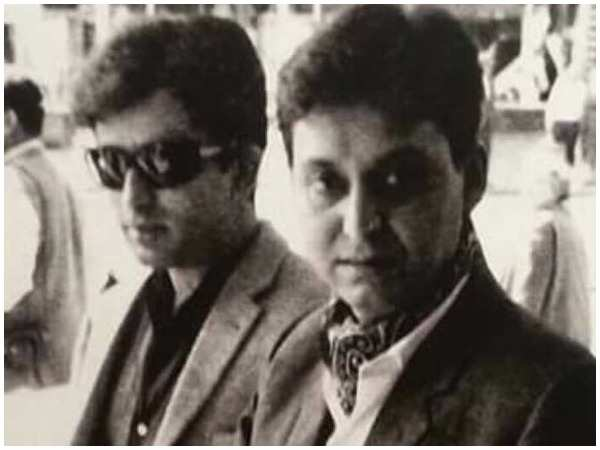 Soumitra Chatterjee with Shashi Kapoor