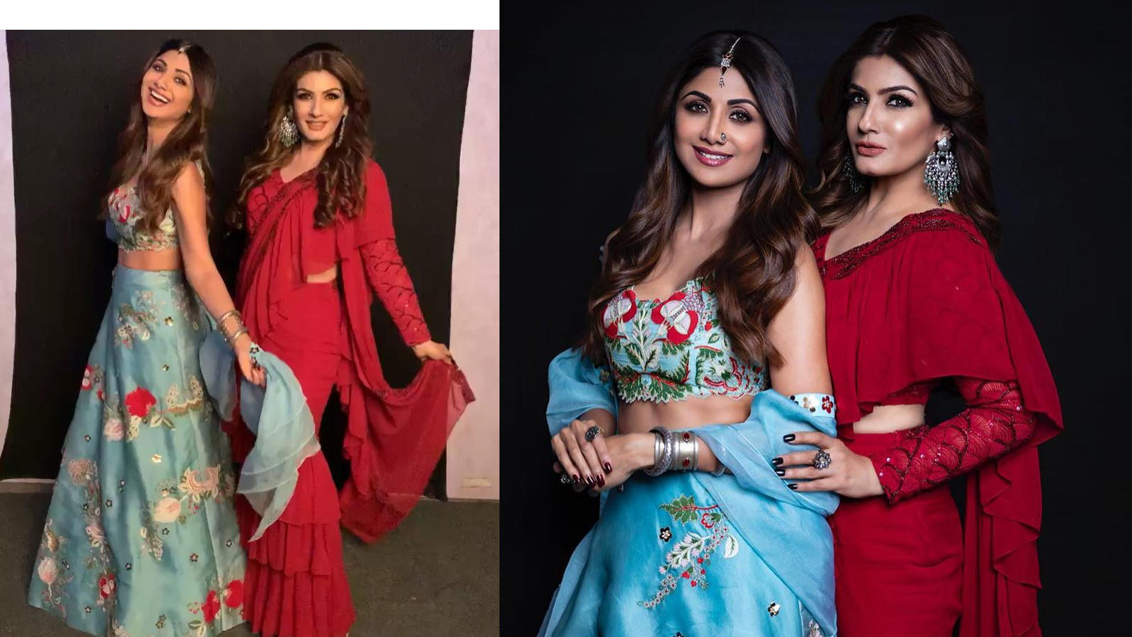 90s queens Shilpa Shetty and Raveena Tandon reunite