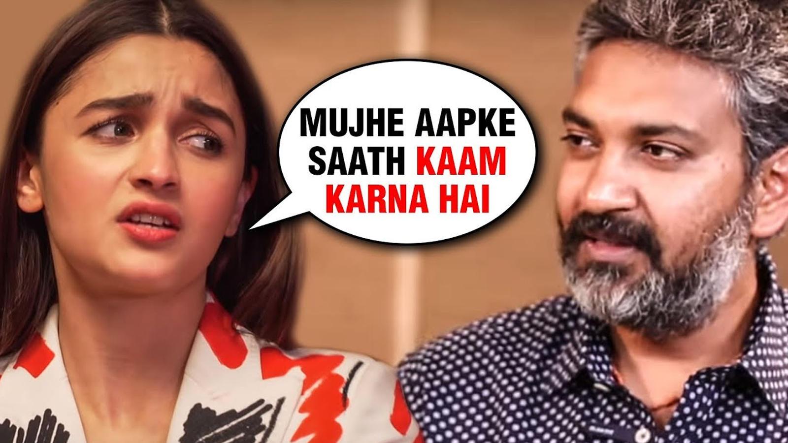 Alia Bhatt was desperate to be part of Rajamouli's magnum opus film 'RRR'?