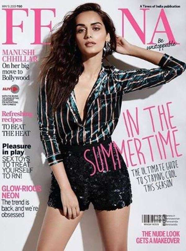 Manushi Chhillar's Femina shoot is ultimate guide to summer paradise