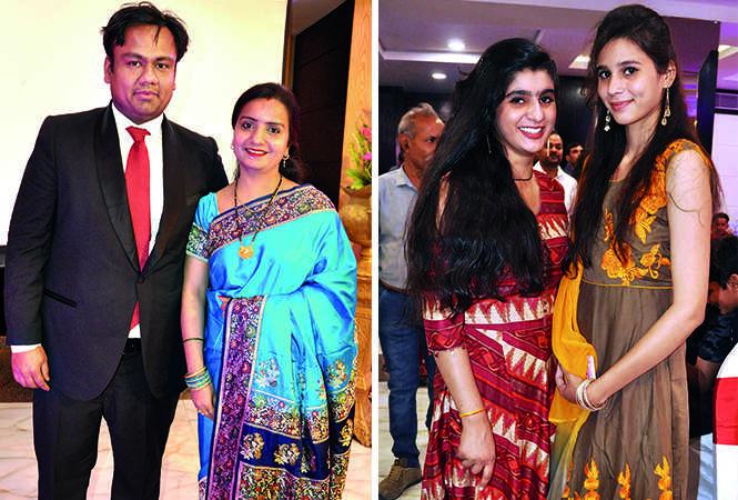(L) Gaurav and Neha (R) Karishma and Shruti (BCCL/ AS Rathor)