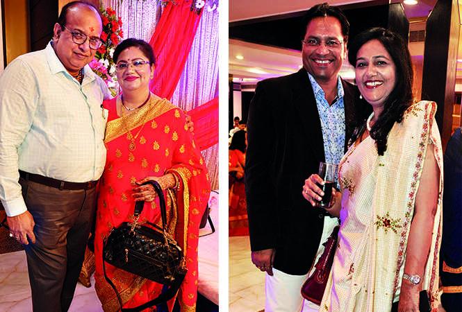 (L) Piyush and Savita (R) Shailendra and Kavita (BCCL/ AS Rathor)