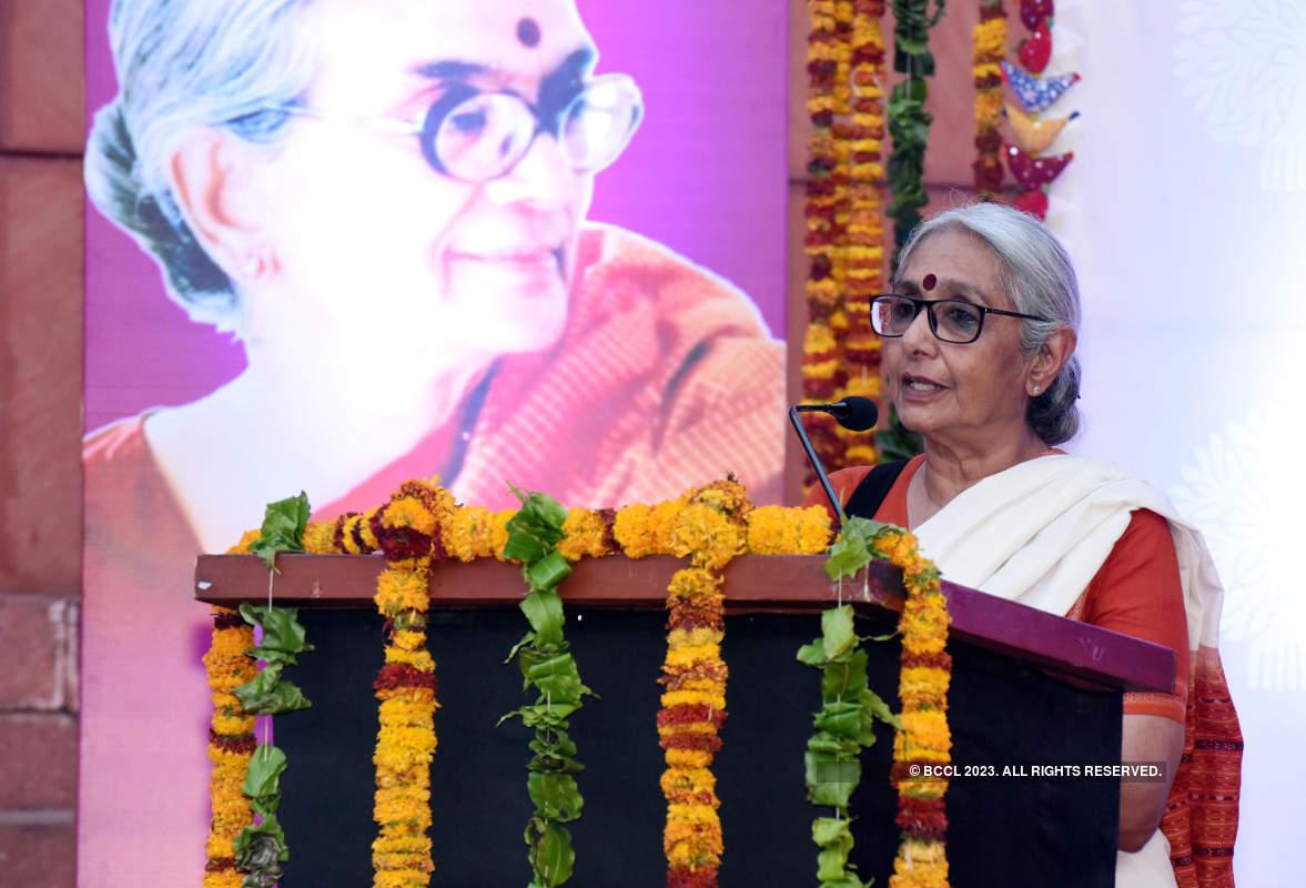 Nandita Das attends the 8th Hemlata Prabhu Memorial Lecture