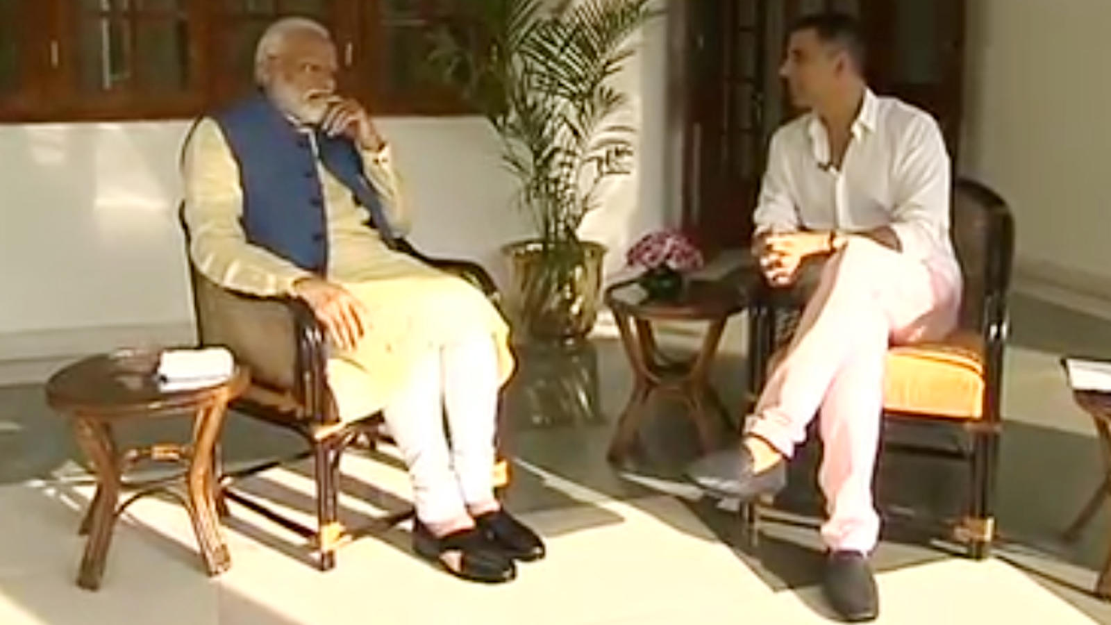 PM Narendra Modi shares his retirement plan with Akshay Kumar