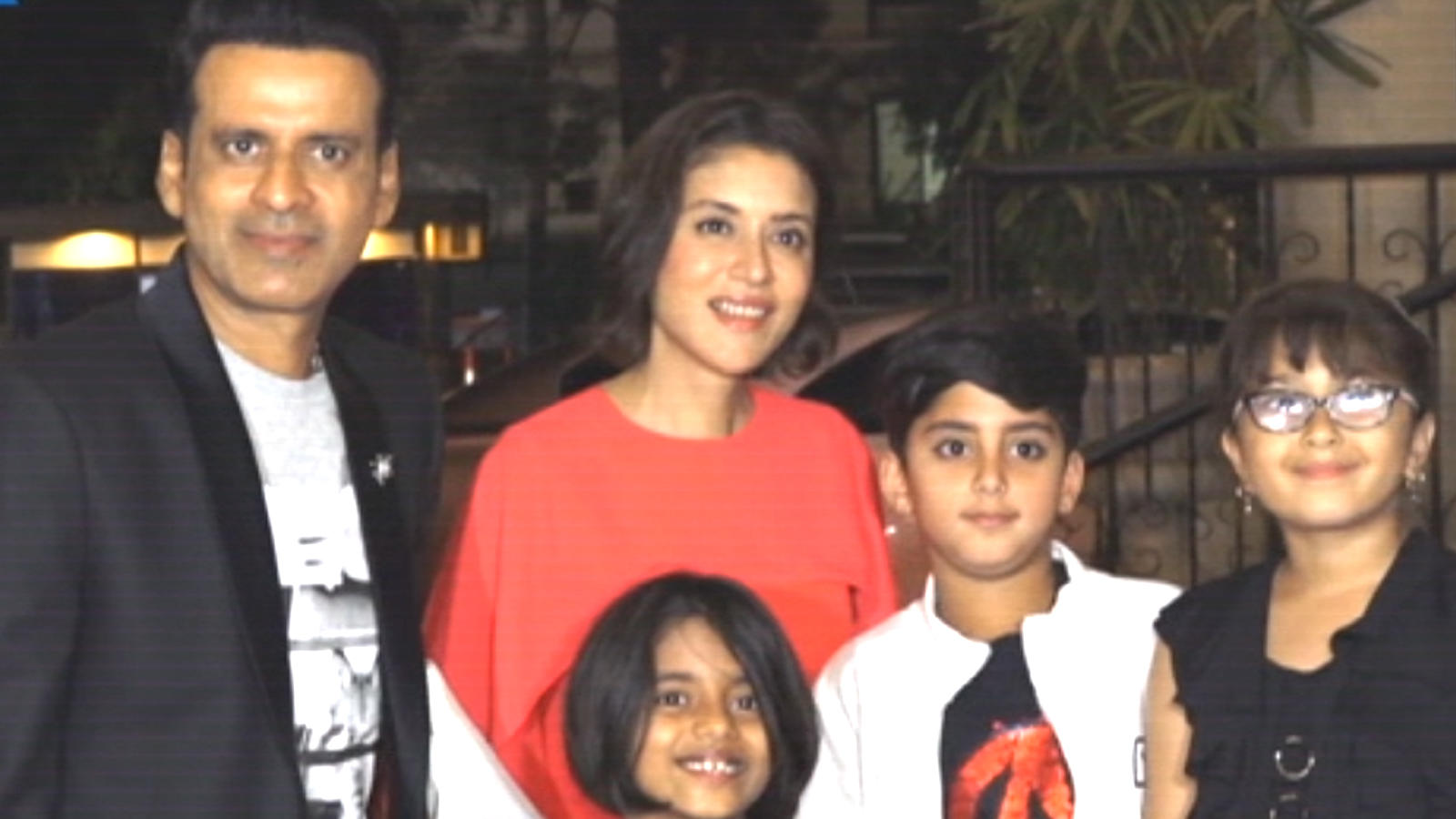 Manoj Bajpayee celebrates birthday with family, friends