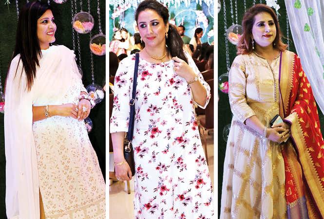 (L) Nancy Batra (C) Pari Beri (R) Pooja Madhok (BCCL/ Unmesh Pandey)