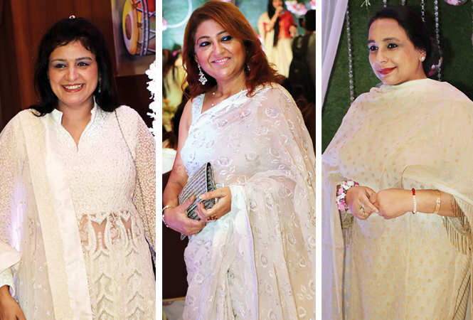 (L) Preeti Talwar (C) Reena Peshwani (R) Sonia Bhasin (BCCL/ Unmesh Pandey)
