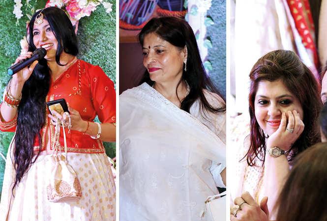 (L) Ankita Khatry (C) Alka Beri (R) Tanya Arora (BCCL/ Unmesh Pandey)
