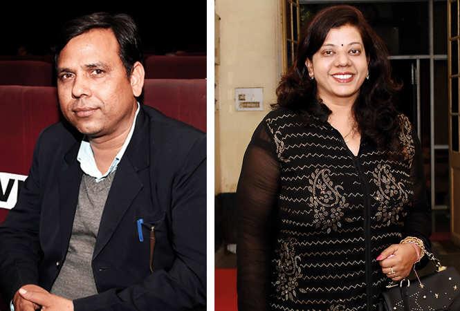 (L) Masihuddin Khan (R) Ritu Singh (BCCL/ Farhan Ahmad Siddiqui)