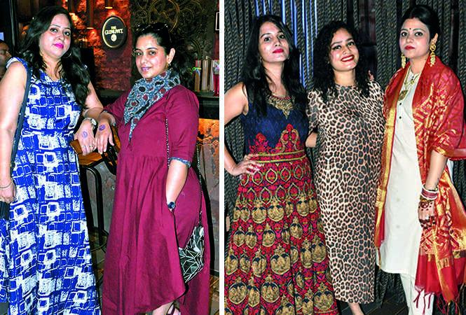 (L) Neeti and Anamika (R) Nupur, Khyati and Shivika (BCCL/ AS Rathor)
