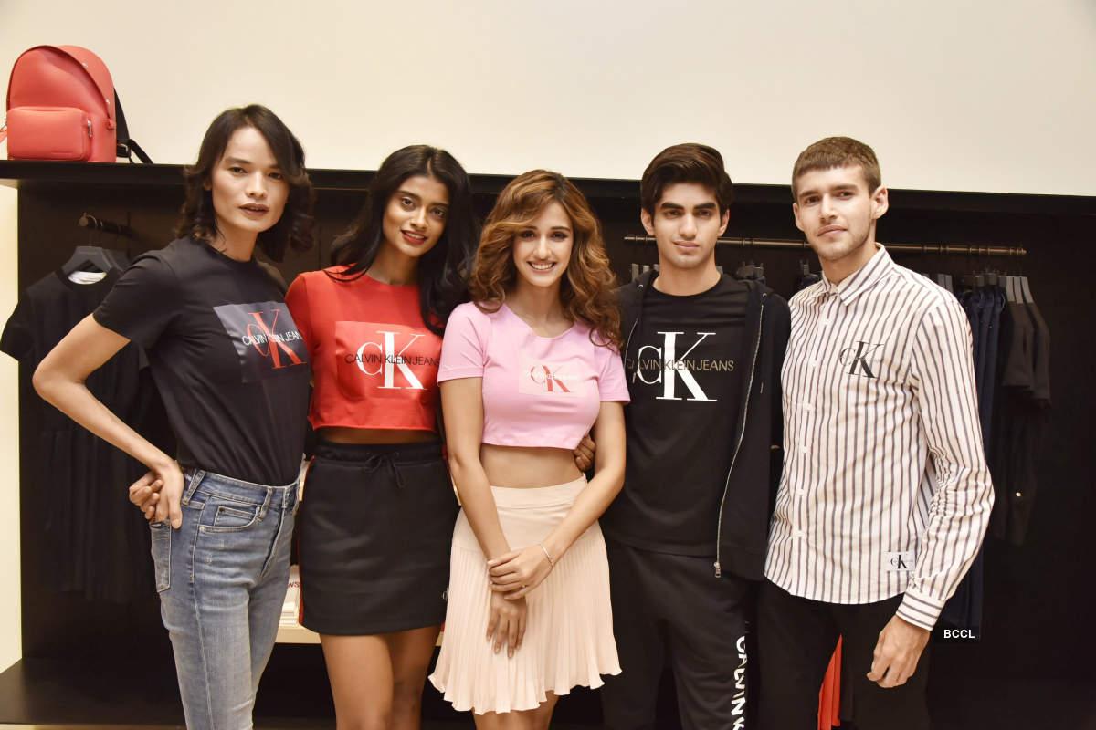 Disha Patani promotes a clothing brand