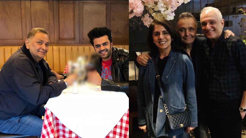 Rishi Kapoor enjoys Cherry Blossom in New York with Maniesh Paul amid medical treatment