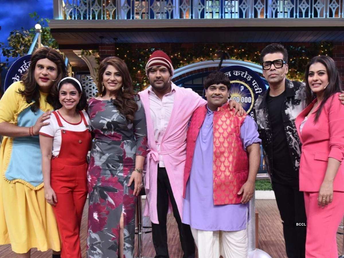 The Kapil Sharma Show Highlights: Karan Johar reveals that Kajol had