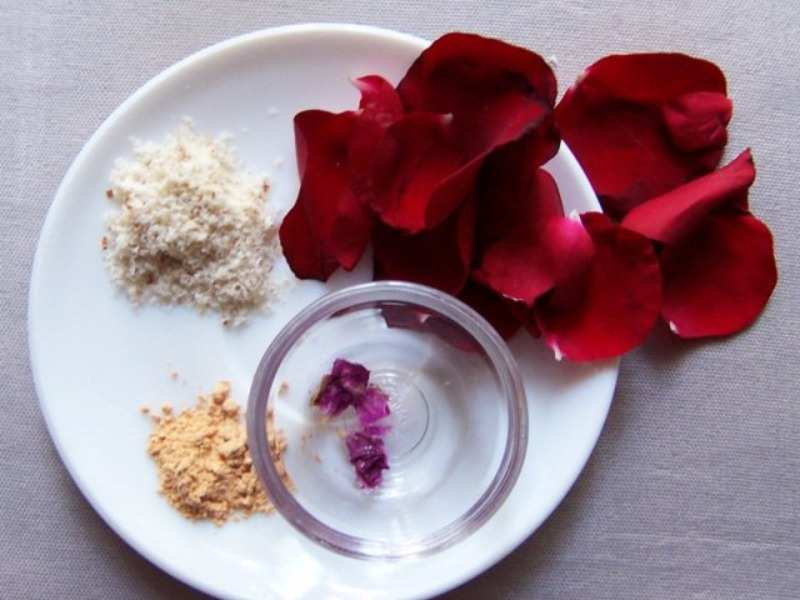 Diy Homemade Flower Face Mask For Glowing Skin