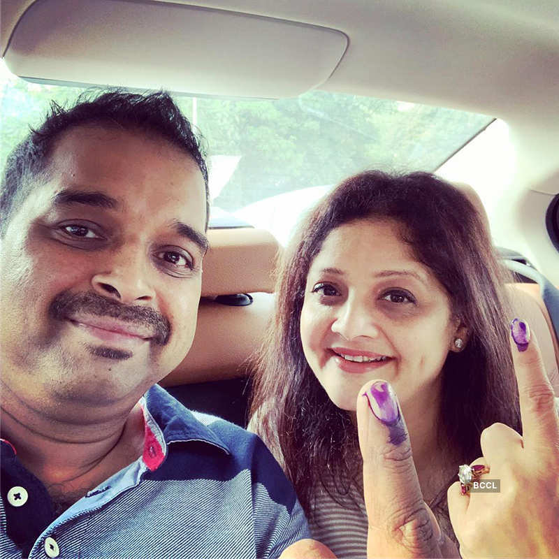 Shah Rukh Khan, Deepika Padukone, Anushka Sharma, Salman Khan & others cast their vote