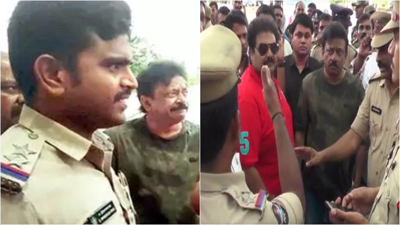 Ram Gopal Varma detained ahead of 'Lakshmi's NTR' press meet, later released