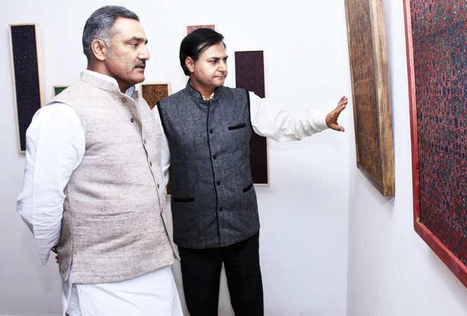 Anurag Mishra (L) and Prem Panjwani (BCCL/ Vishnu Jaiswal)
