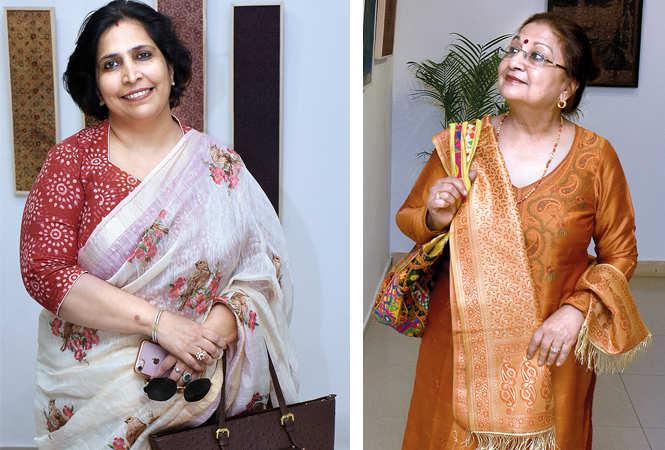 (L) Vanita Yadav (R) Shobhna Jagdish (BCCL/ Vishnu Jaiswal)