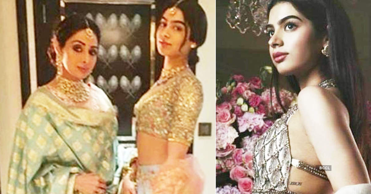 When Sridevi got suspicious about daughter Khushi Kapoor's tattoo