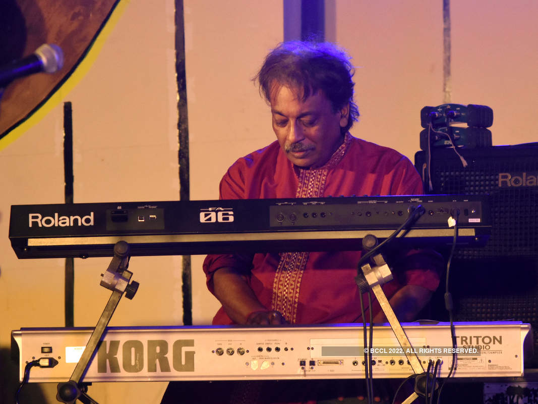 Musicians perform at Sanskriti 2019