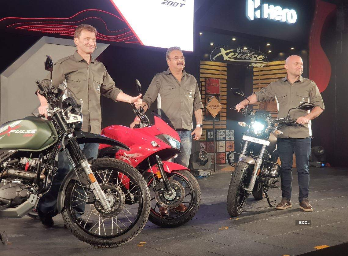 Hero MotoCorp launches 3 premium bikes