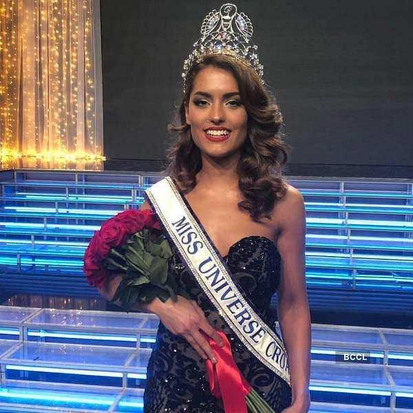 Mia Rkman crowned Miss Universe Croatia