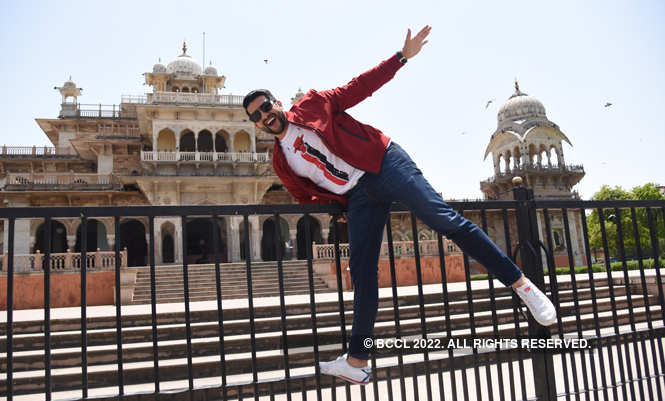 ​​Aftab Shivdasani at Albert Hall Museum in Jaipur​​