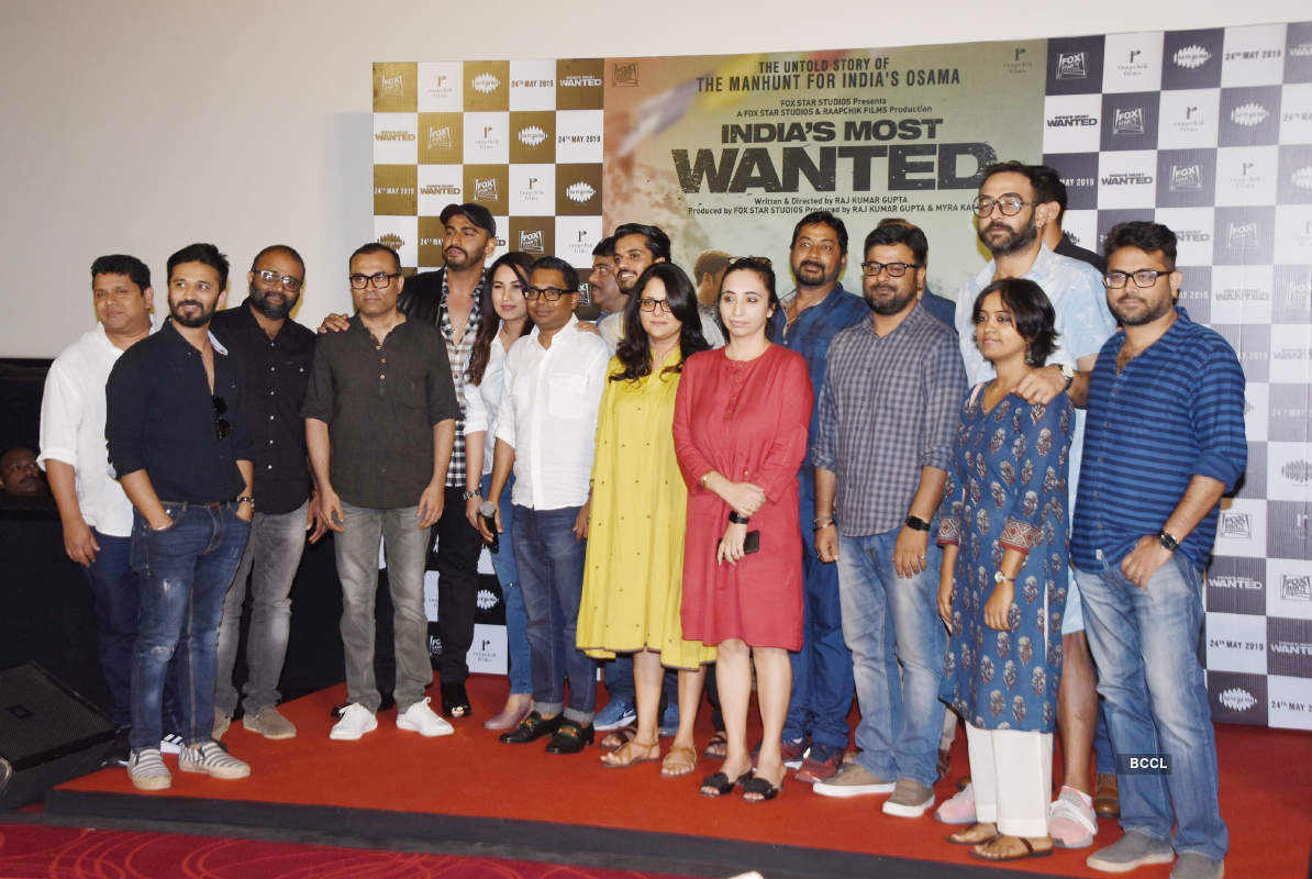 India's Most Wanted: Trailer launch