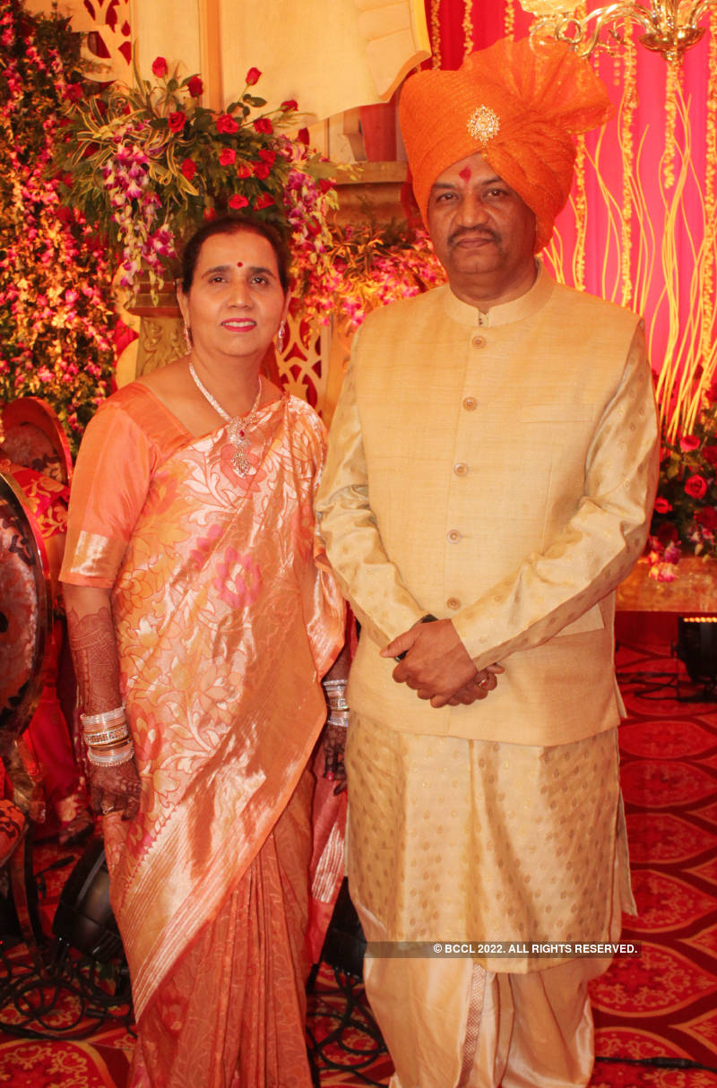 Roushani Upadhyay and Dhaval Pandey's wedding ceremony
