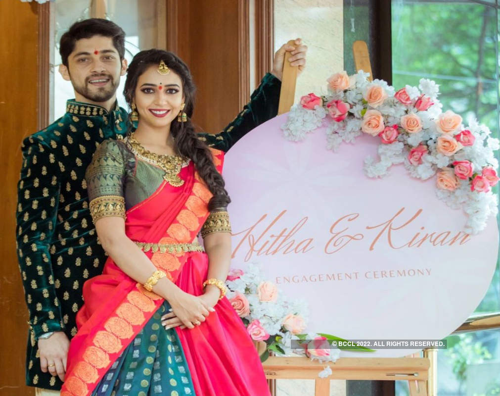 'Beyhadh' actor Kiran Srinivas gets engaged to Kannada actress Hitha Chandrashekar