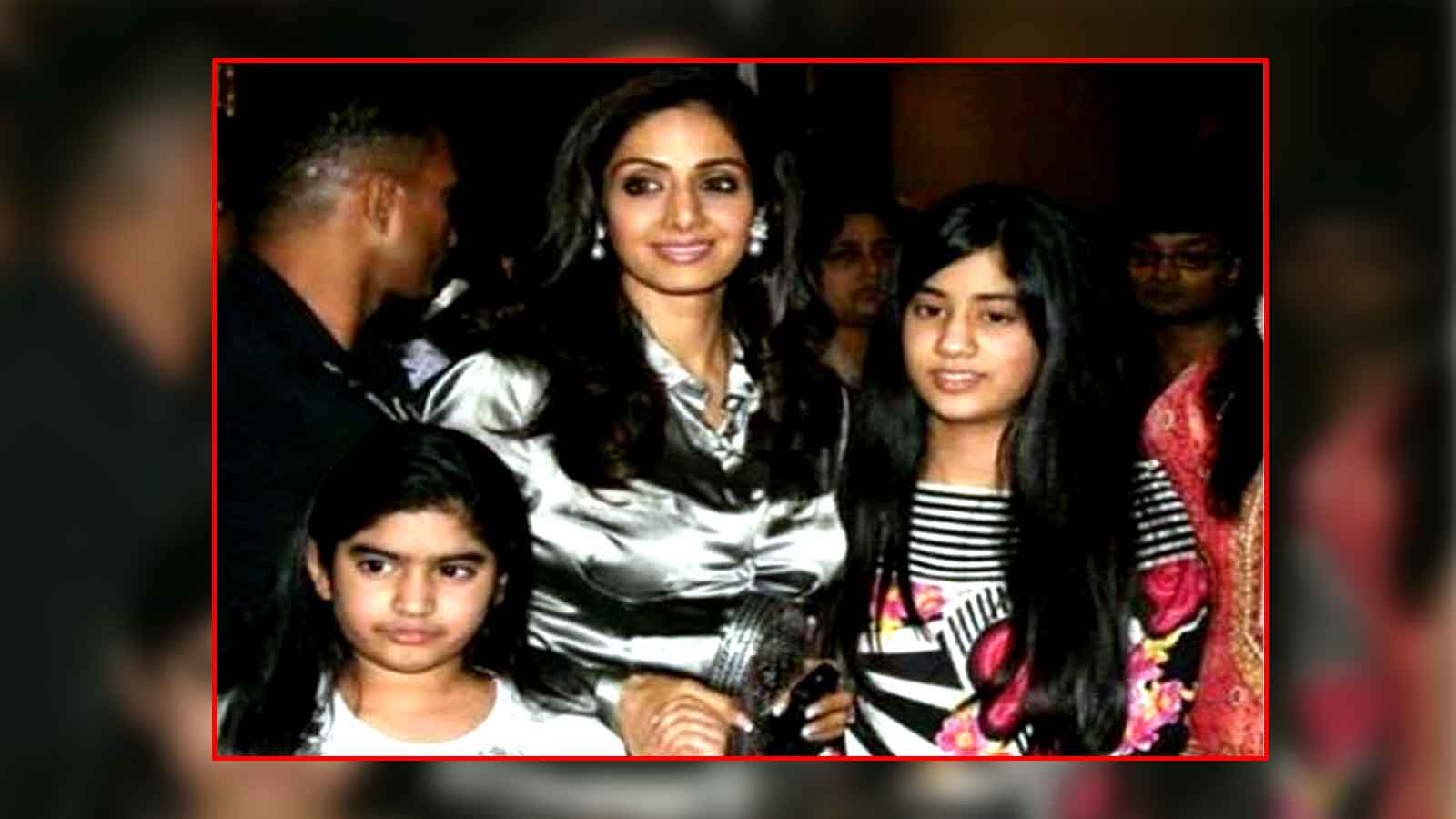 Throwback picture of Sridevi with daughters Janhvi Kapoor and Khushi Kapoor goes viral