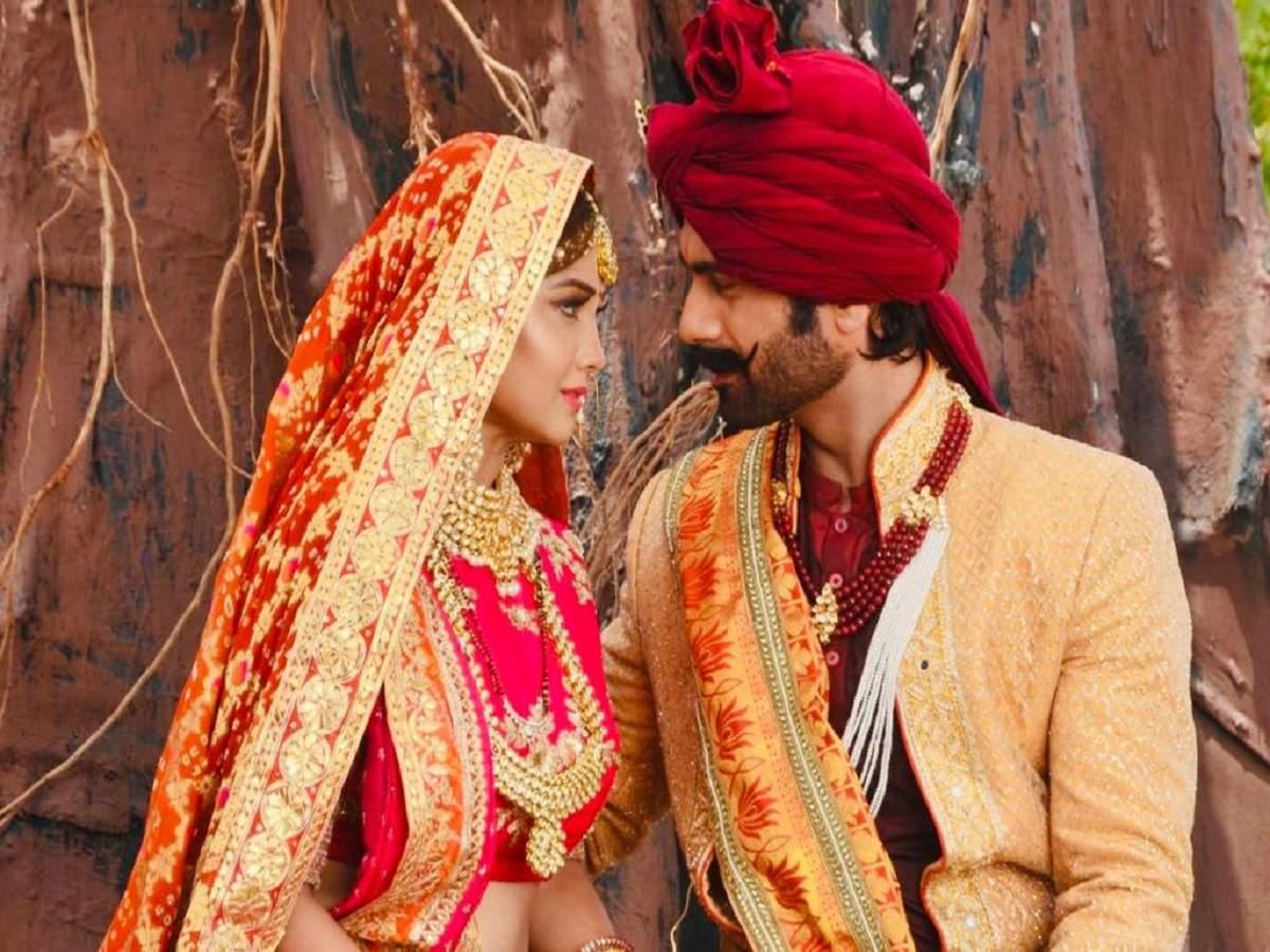 Adaa Khan and Arhaan Behll get married in Sitara