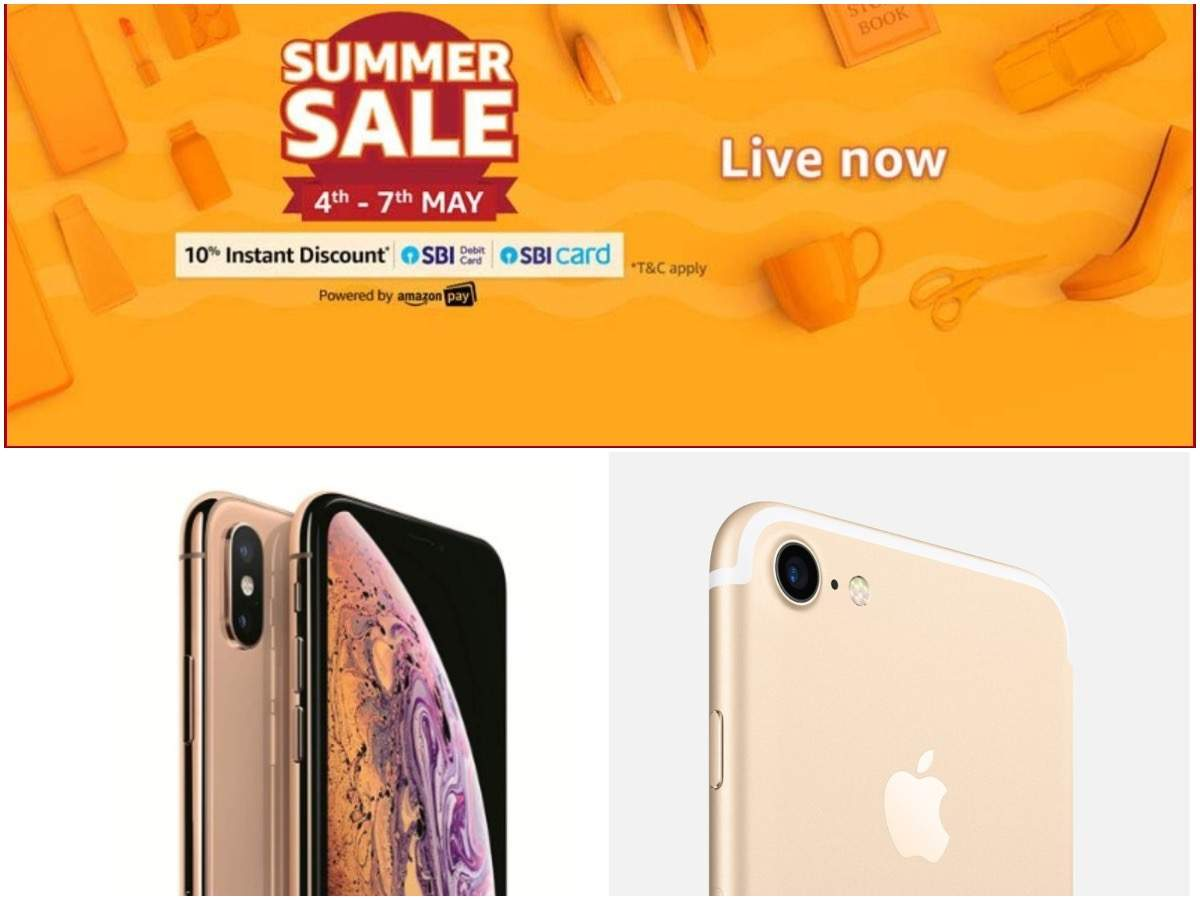 Get iPhones starting at Rs 27,999 during Amazon Summer Sale 2019