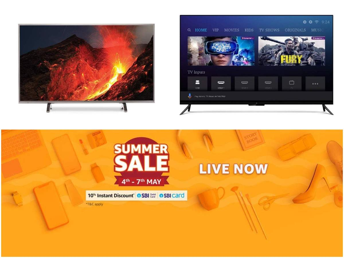 Amazon Summer Sale 2019: TVs from Xiaomi, Samsung and others starting Rs 8,990