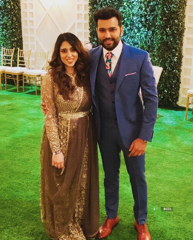 Indian cricketers and their wives
