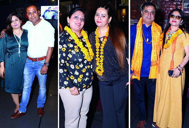 (L) Poonam and Alok Dixit (C) Surabhi Bajpai and Amrit Sehgal (R) Vishal and Kritika Wadhwa (BCCL/ IB Singh)