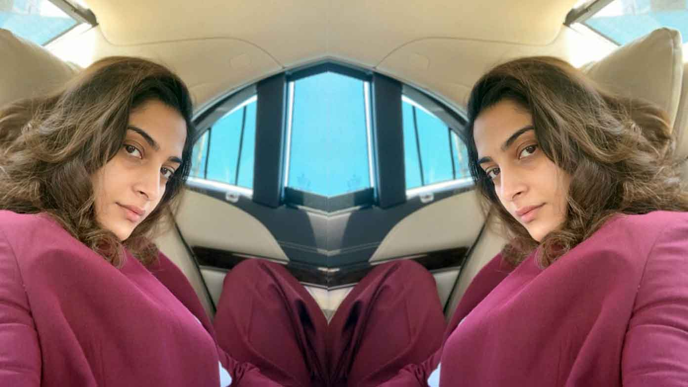 Sonam Kapoor posts a bare no make-up selfie, fans call her brave and gorgeous!